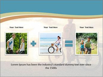 Cyclist Enjoying Sunset PowerPoint Templates - Slide 22