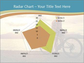 Cyclist Enjoying Sunset PowerPoint Templates - Slide 51