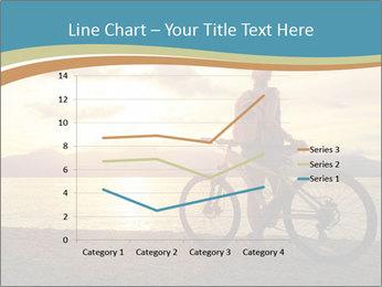 Cyclist Enjoying Sunset PowerPoint Templates - Slide 54