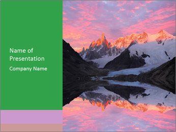 Tranquil Mountain PowerPoint Templates - Slide 1