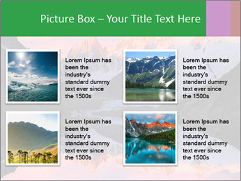 Tranquil Mountain PowerPoint Templates - Slide 14