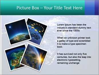 Night India From Space PowerPoint Template - Slide 23