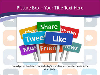 Virtual Dialog Icon PowerPoint Template - Slide 15