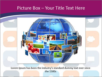 Virtual Dialog Icon PowerPoint Template - Slide 16