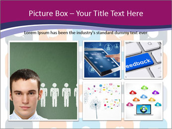 Virtual Dialog Icon PowerPoint Template - Slide 19