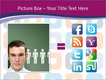 Virtual Dialog Icon PowerPoint Template - Slide 21