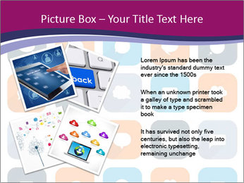 Virtual Dialog Icon PowerPoint Template - Slide 23