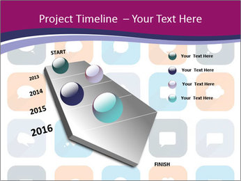 Virtual Dialog Icon PowerPoint Template - Slide 26