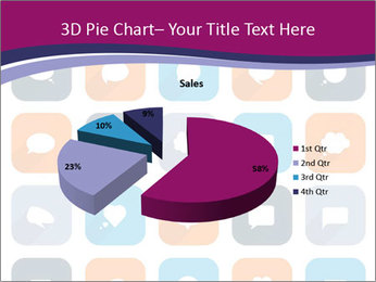 Virtual Dialog Icon PowerPoint Template - Slide 35
