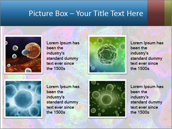 Bright Microscopic Cells PowerPoint Templates - Slide 14