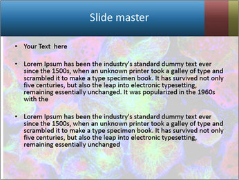 Bright Microscopic Cells PowerPoint Templates - Slide 2