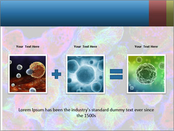 Bright Microscopic Cells PowerPoint Templates - Slide 22