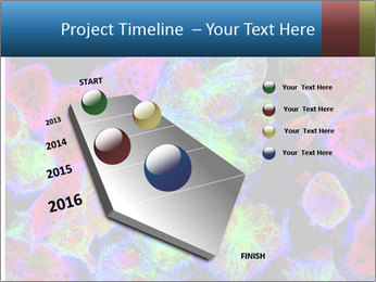 Bright Microscopic Cells PowerPoint Templates - Slide 26