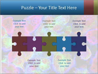 Bright Microscopic Cells PowerPoint Templates - Slide 41