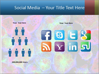 Bright Microscopic Cells PowerPoint Templates - Slide 5