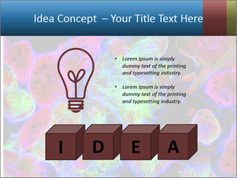 Bright Microscopic Cells PowerPoint Templates - Slide 80
