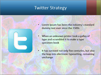 Bright Microscopic Cells PowerPoint Templates - Slide 9