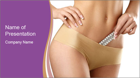 Contraception For Female PowerPoint Template