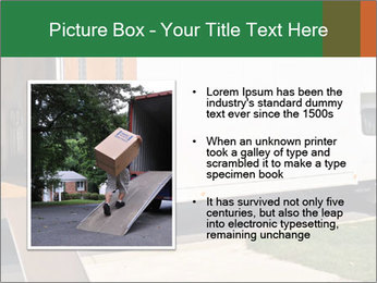 White Cargo Truck PowerPoint Template - Slide 13