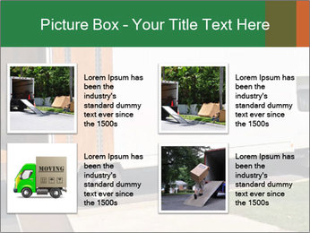 White Cargo Truck PowerPoint Template - Slide 14