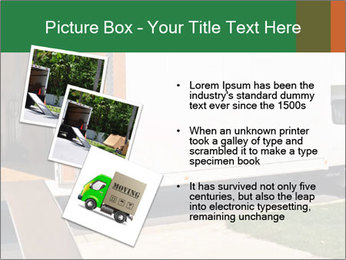White Cargo Truck PowerPoint Template - Slide 17
