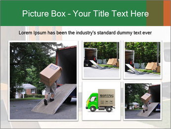 White Cargo Truck PowerPoint Template - Slide 19