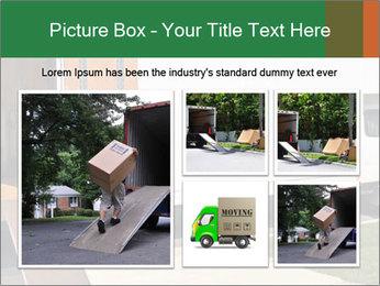 White Cargo Truck PowerPoint Templates - Slide 19