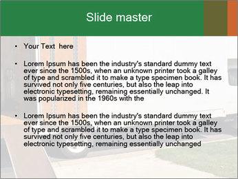 White Cargo Truck PowerPoint Templates - Slide 2