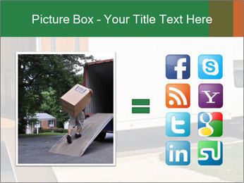 White Cargo Truck PowerPoint Template - Slide 21