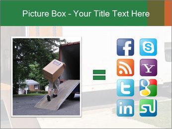 White Cargo Truck PowerPoint Templates - Slide 21