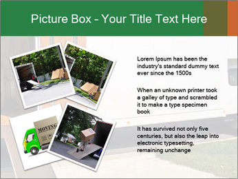 White Cargo Truck PowerPoint Template - Slide 23