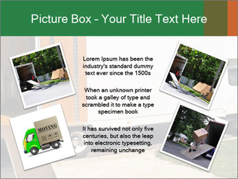 White Cargo Truck PowerPoint Template - Slide 24