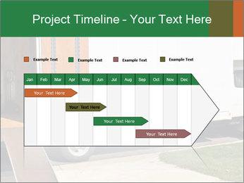 White Cargo Truck PowerPoint Templates - Slide 25