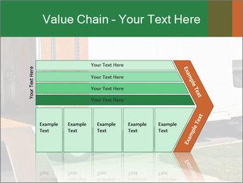 White Cargo Truck PowerPoint Templates - Slide 27