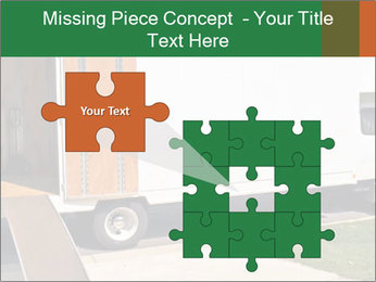 White Cargo Truck PowerPoint Template - Slide 45