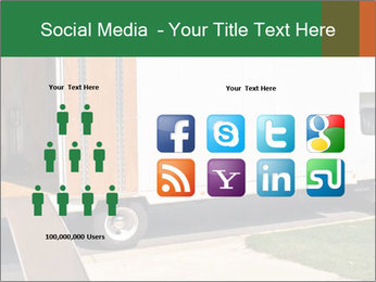 White Cargo Truck PowerPoint Template - Slide 5
