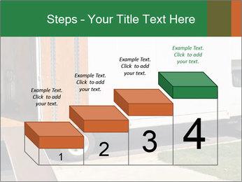 White Cargo Truck PowerPoint Templates - Slide 64