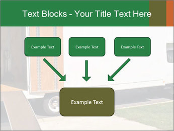 White Cargo Truck PowerPoint Templates - Slide 70