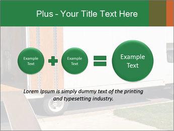 White Cargo Truck PowerPoint Templates - Slide 75