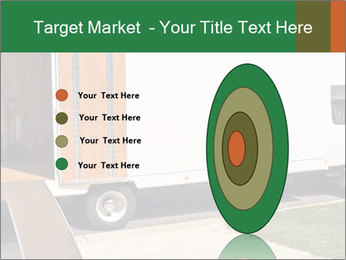 White Cargo Truck PowerPoint Template - Slide 84