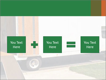 White Cargo Truck PowerPoint Template - Slide 95