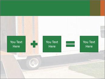White Cargo Truck PowerPoint Templates - Slide 95
