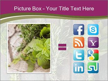 Fresh Herbs PowerPoint Templates - Slide 21