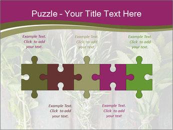 Fresh Herbs PowerPoint Templates - Slide 41