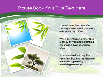 Elephant Made Of Grass PowerPoint Template - Slide 23