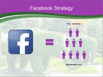 Elephant Made Of Grass PowerPoint Template - Slide 7
