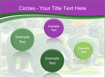 Elephant Made Of Grass PowerPoint Template - Slide 77