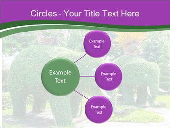 Elephant Made Of Grass PowerPoint Template - Slide 79