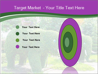 Elephant Made Of Grass PowerPoint Template - Slide 84