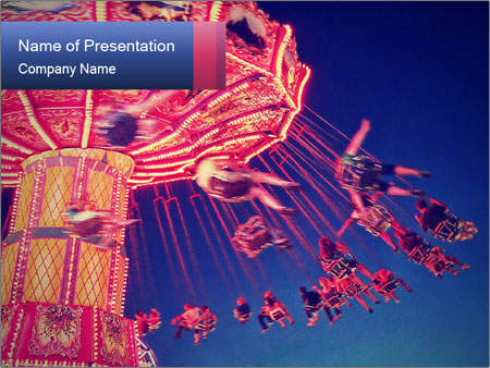 Retro Amusement Park PowerPoint Template